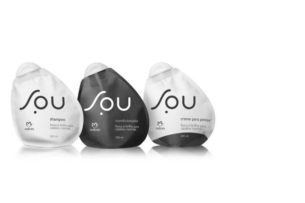 embalagens soul shampoo condicionador creme natura